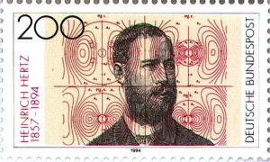 Heinrich-Hertz-Deutsche-Post-Stamp