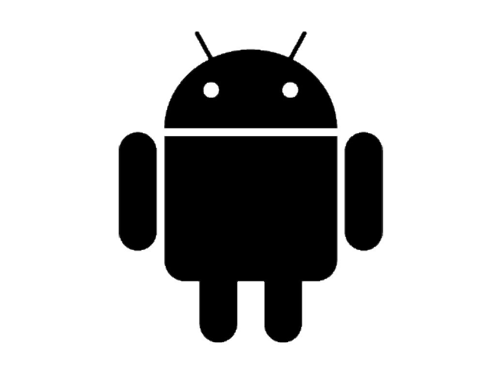 black_android_logo