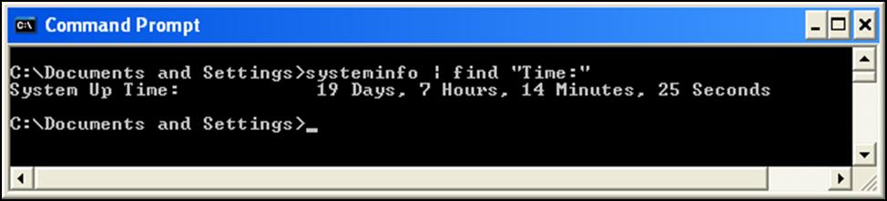 uptime-command-windows-xp