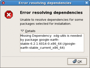Google-Earth-Install-Error-resolving-dependencies-xdg-utils