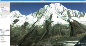 Google-Earth-Mera-Peak-Nepal