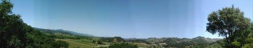 Napa Valley Panorama