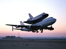 NASA-Space-Shuttle-Endeavour-mounted-on-747-jet-Shuttle-Carrier-Aircraft-SCA