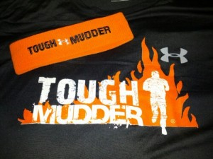 Tought Mudder Headband and T-shirt