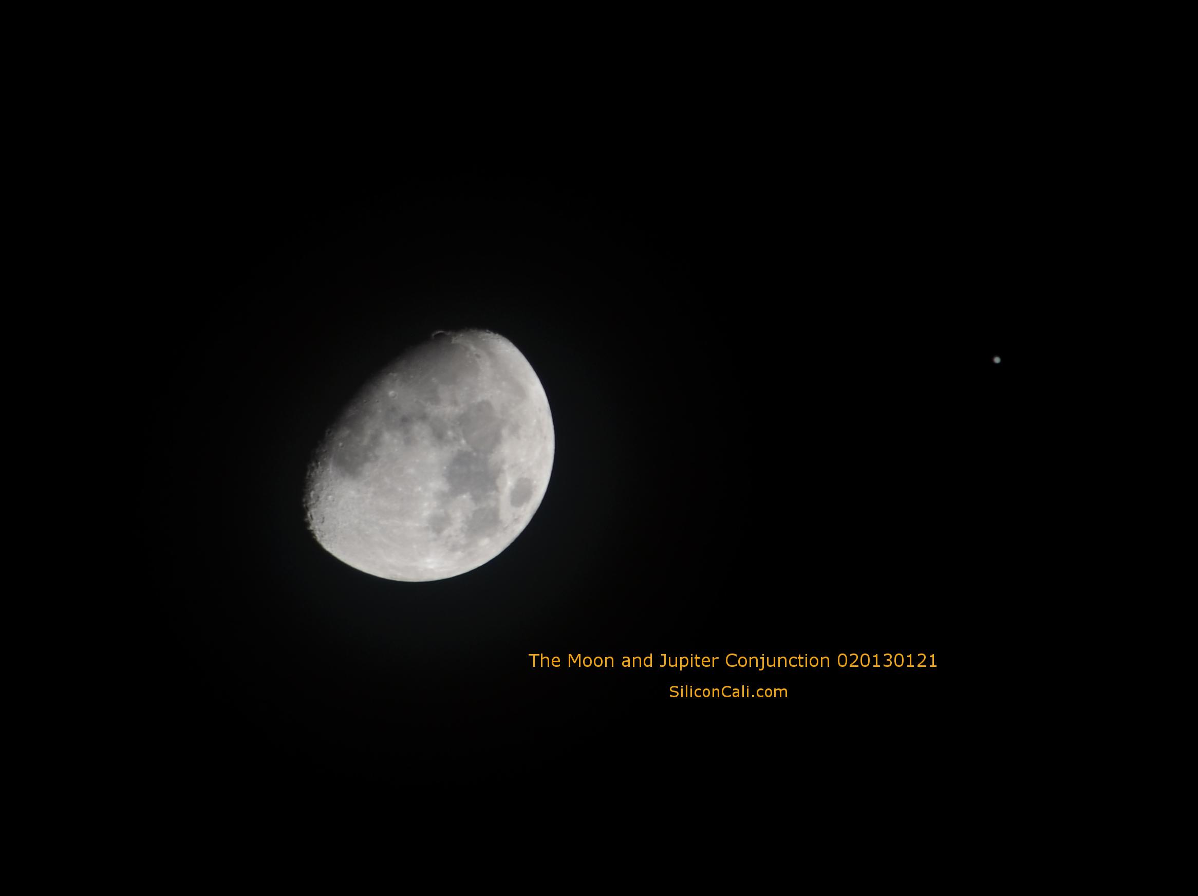 Moon_Jupiter_Conjunction_020130121_SiliconCali.com