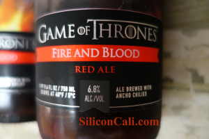 Game of Thrones Fire and Blood Red Ale. GoT Beer?